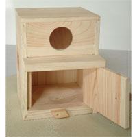 セキセイ用巣箱