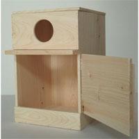 中型インコ用巣箱